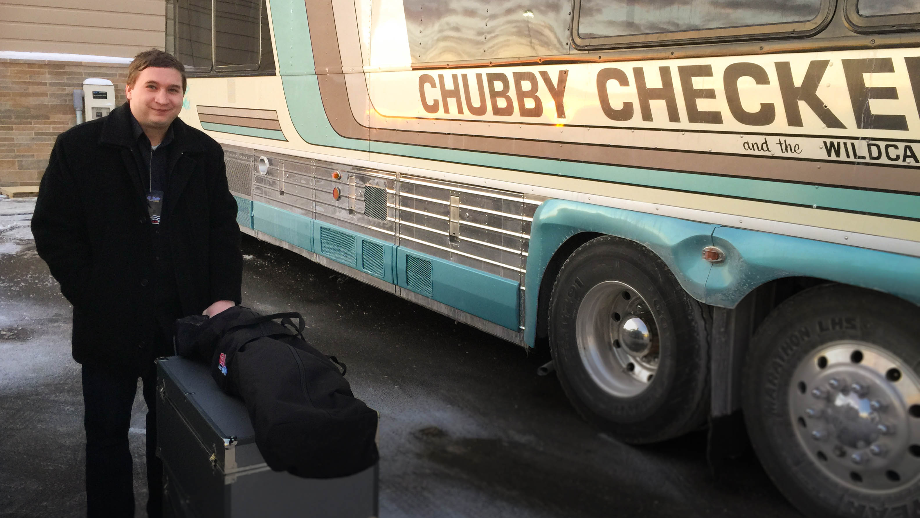 Chubby checkers bus