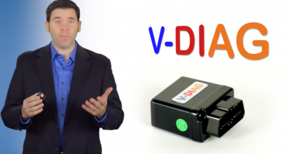 Kickstarter Spokesperson video production - V-diag