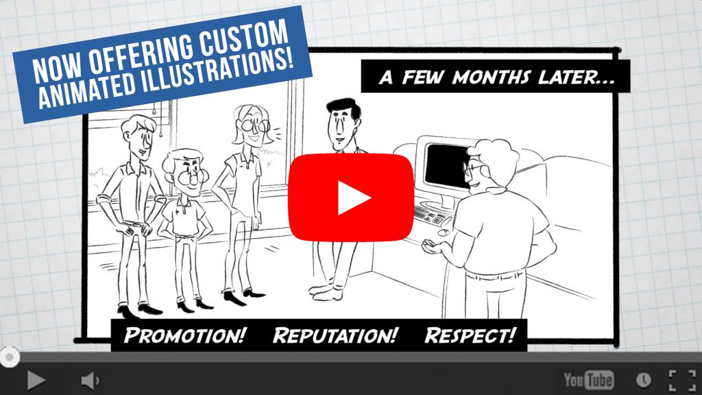 Animated illustrations