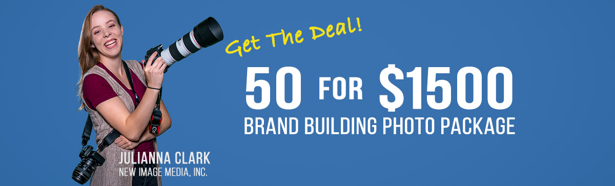 50 for $1500 Brand Building Photo Package