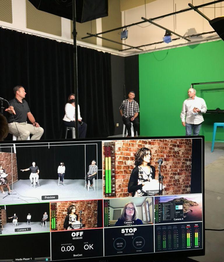 live stream rehearsal