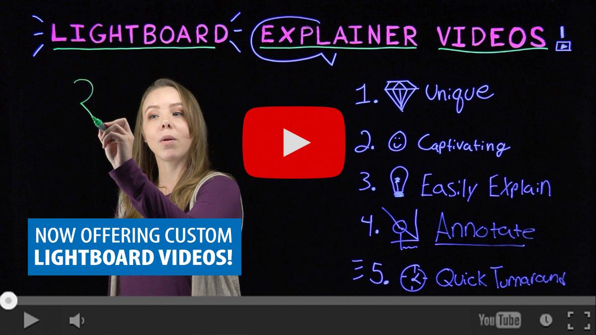 Lightboard videos